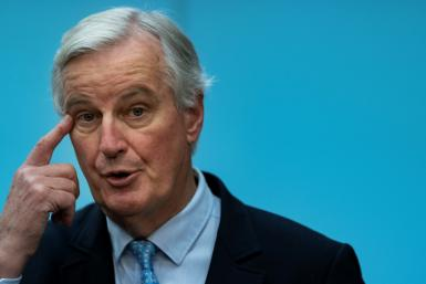 EU negotiator Michel Barnier said there had been 'good progress' in the latest Brexit talks with Britain