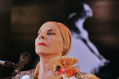 Alicia Alonso -- seen here at a press conference in Havana in 2006 -- founded the National Ballet of Cuba