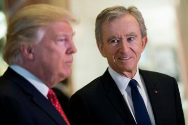 Bernard Arnault, chief executive of French luxury behemoth LVMH, met with Donald Trump in New York in January 2017, just weeks after he was elected president