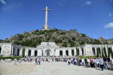 Dictator Francisco Franco, who ruled Spain with an iron fist following the end of the 1936-39 civil war, is buried in an imposing basilica carved into a mountain in the Valley of the Fallen, 50 kilometres (30 miles) outside Madrid