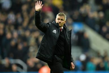 "Manchester United's Norwegian manager Ole Gunnar Solskjaer (pictured October 6, 2019) has ""instilled the discipline back"" into the team, said team vice-chairman Ed Woodward"