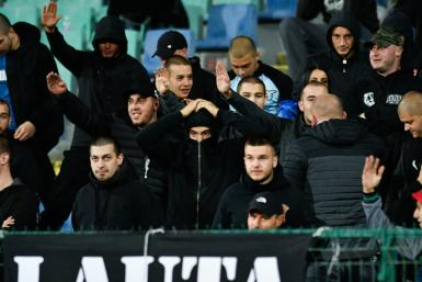 Monkey chants and apparent Nazi salutes overshadowed England's 6-0 win at Monday's Bulgaria-England game