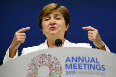 IMF Managing Director Kristalina Georgieva welcomed a deal to boost emergency lending resources