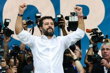 Recent polls put Matteo Salvini's party well ahead of Five Star and the Democratic Party