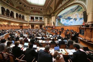 Switzerland is electing members of the House of Representatives and the Senate for the next four years