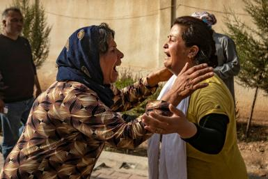 The Turkish offensive has killed dozens of civilians, mainly on the Kurdish side