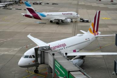 Cabin crew at Germanwings and Eurowings were joined by colleagues at SunExpress and CityLine during a day-long strike for higher wages and better working conditions