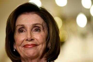 US Speaker of the House Nancy Pelosi has led a group of US lawmakers to Jordan for talks with King Abdullah II