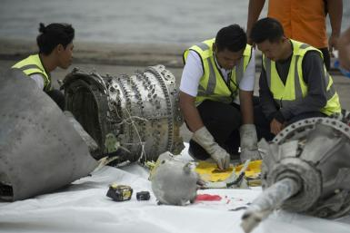 All 189 passengers and crew died when the 737 MAX jet slammed into the Java Sea shortly after takeoff from Jakarta last October