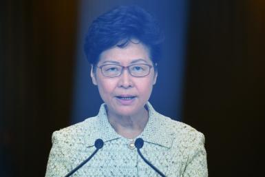 Hong Kong Chief Executive Carrie Lam has faced sustained criticism from protesters in the semi-autonomous city
