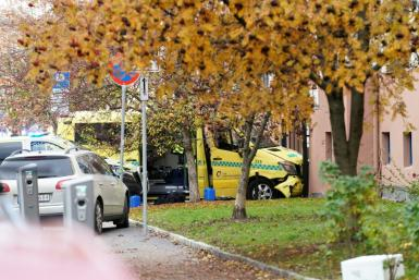 Witnesses cited by public broadcaster NRK said police shot at the tyres of the ambulance and the driver fired back