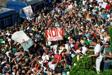 Algerian protesters have continued with their weekly mass demonstrations since President Abdelaziz Bouteflika resigned in April