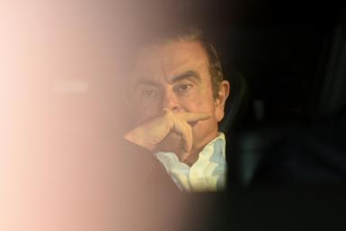 Ghosn is out on bail in Tokyo, awaiting trial on four charges of financial misconduct