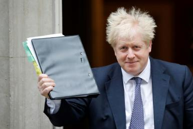Johnson said he would halt the ratification process while European Union leaders consult on a delay