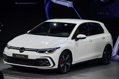 German auto giant Volkswagen hopes the new Golf 8 will help bankroll its transition to the electric vehicle era