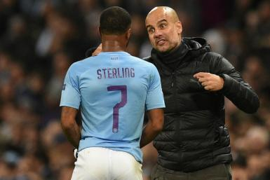 Raheem Sterling is Manchester City's top scorer this season