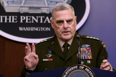 General Mark Milley, chairman of the US Joint Chiefs of Staff, said a military dog wounded in the US raid which resulted in the death of jihadist leader Abu Bakr al-Baghdadi is back on duty