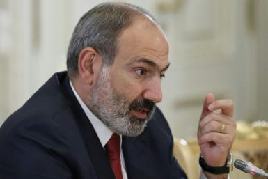 "Armenian Prime Minister Nikol Pashinyan hailed a US House of Representatives resolution officially recognizing the ""Armenian genocide"""