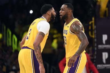 Anthony Davis LeBron James Lakers