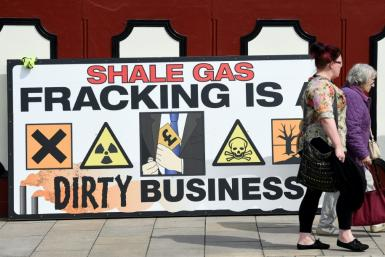 The decision to halt fracking comes weeks before Britain goes to the polls in a general election, with the issue expected to be raised during campaigning