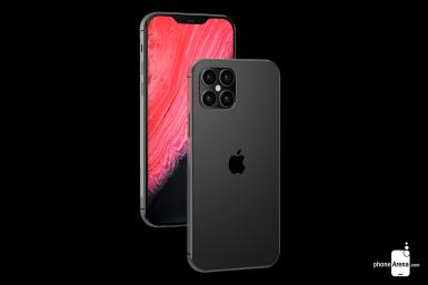 iPhone 12 render by Phone Arena
