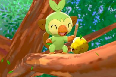 Pokémon Sword and Shield - Grookey