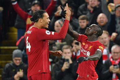 Mane scored the third to put the game beyond Man City