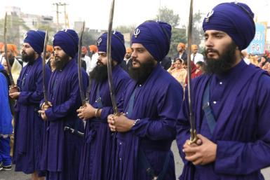 Once rulers of the Punjab, Sikhs were considered a martial race by the subcontinent's British colonisers