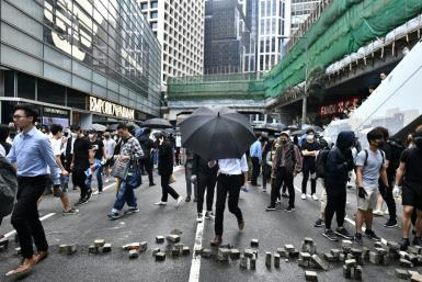 The protest movement has been fuelled by Beijing's tightening control over Hong Kong