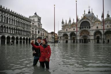 Mayor Luigi Brugnaro said Venice was 'on its knees'