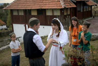 Playing a part in a traditional Serbian wedding is popular among Chinese tourists to the Balkan state
