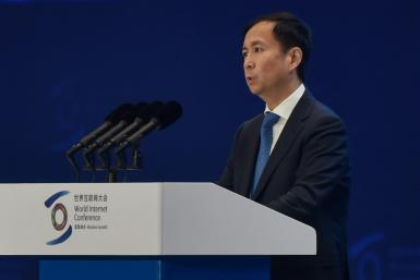 Daniel Zhang, Alibaba Chief Executive Officer, said the group wanted to 'contribute, in our small way, and participate in the future of Hong Kong'