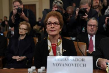 Former US ambassador to Ukraine Marie Yovanovitch testified before the House Intelligence Committee at the second public hearing in the impeachment inquiry into President Donald Trump