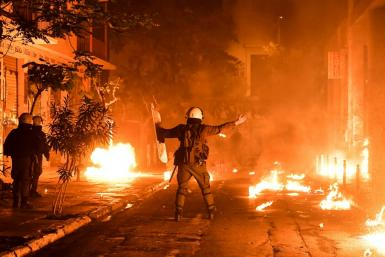 The annual demonstation marking the 1973 student uprising against Greece's US-backed military dictatorship regularly descends into violence