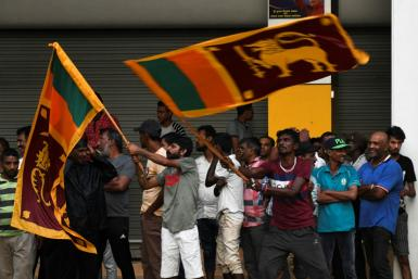 The election was relatively peaceful by the standards of Sri Lanka's fiery politics