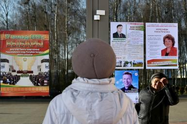 On Sunday Belarusian voters will elect 110 MPs to the House of Representatives, the lower chamber of what the opposition calls a rubber-stamp parliament
