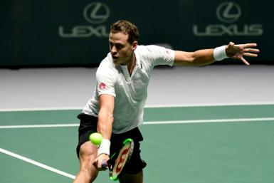 Pospisil claimed a surprise win over Fognini