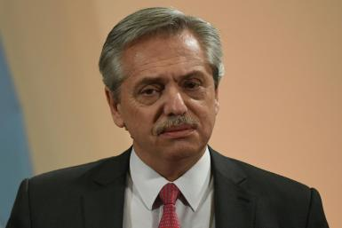 Argentine President-elect Alberto Fernandez, pictured November 4, said he will not install new austerity measures