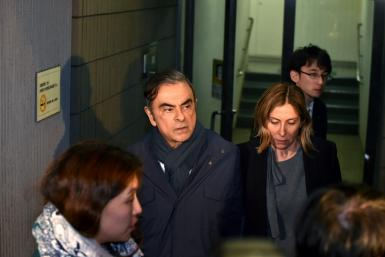 Ghosn had been banned from contacting his wife Carole