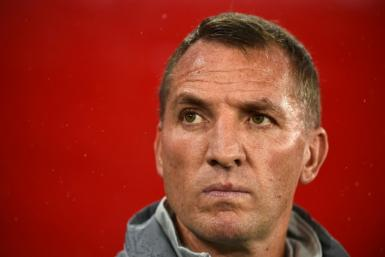 Leicester manager Brendan Rodgers has taken his side to second in the Premier League table