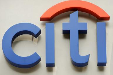 "US banking giant Citigroup was handed a record fine of almost £44 million ($57 million, 51 million euros) by British authorities for ""serious and widespread"" reporting breaches"
