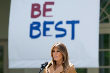 US First Lady Melania Trump's 'Be Best' anti-bullying initiative has been a poorly managed flop, according to a new biography, 'Free, Melania'