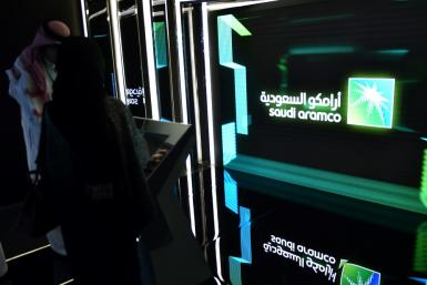 The sum raised by the oil giant surpasses the $25 billion garnered by the Chinese online trading group Alibaba in 2014 when it entered Wall Street; file photo from November 13, 2019 in Riyadh
