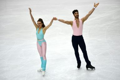 France's Gabriella Papadakis and Guillaume Cizeron are the four-time world ice dancing champions.