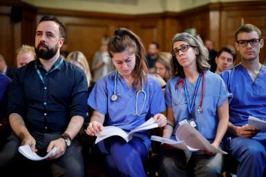 With some 1.7 million staff, Britain's NHS, which is often criticised but fiercely defended, is one of the world's largest employers