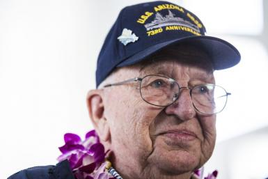Lauren Bruner, who was among the last sailors rescued from the USS Arizona as it exploded into flames and sank, died in September at age 98