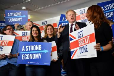 Johnson is hoping to regain the Conservative majority lost by his predecessor Theresa May in the last election