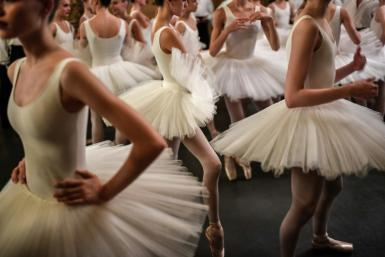Of 154 dancers employed at the Paris Opera, 120 protested last Thursday as part of a nationwide strike against pension reform