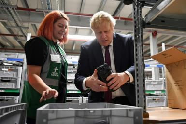 Prime Minister Boris Johnson is hoping to secure a majority government