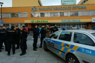 The gunman allegedly shot people at close range as they sat waiting in the trauma ward of the Faculty Hospital in Ostrava